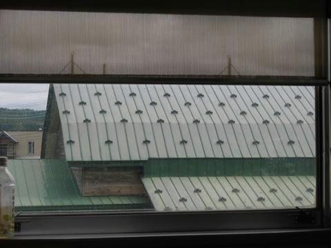 JR幾寅駅舎の屋根