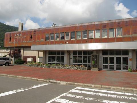 新夕張駅駅舎