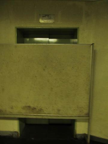 新夕張駅3・4番線エレベーター