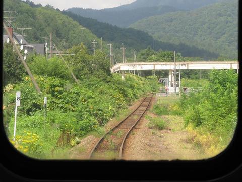 清水沢駅南方