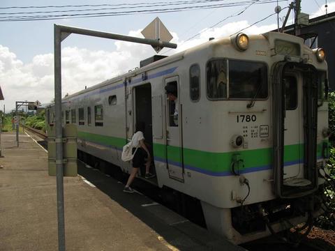 キハ40 1780@清水沢駅