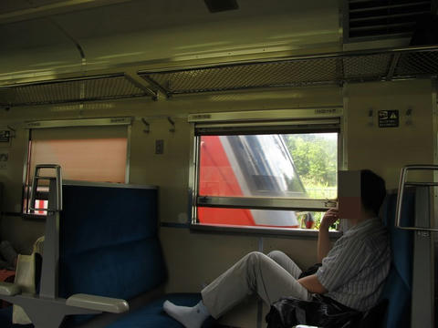 DF200@十三里駅