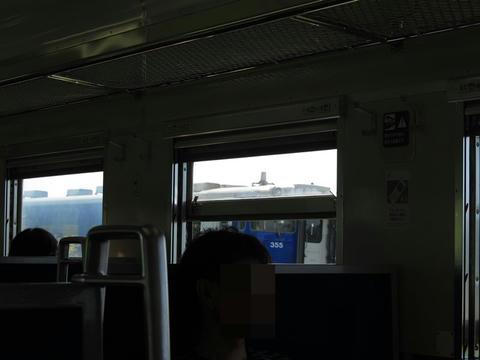 キハ40 355@追分駅北方