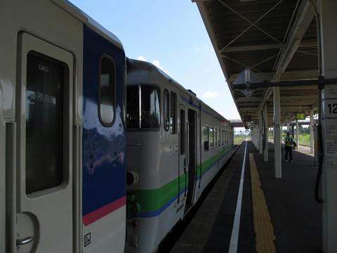 キハ40 355@追分駅