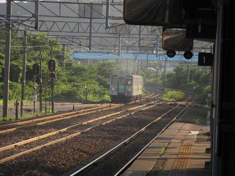 登別駅駅名票