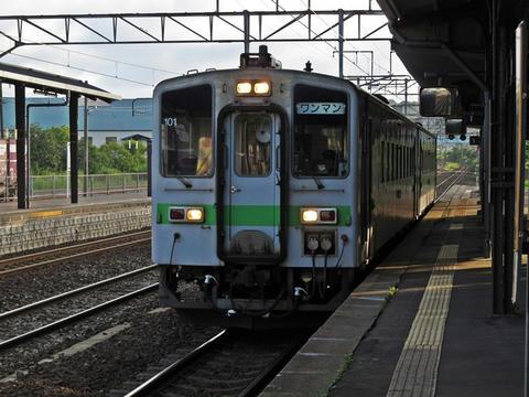 キハ143-101@登別駅