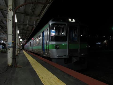 721系F-2107編成@滝川駅