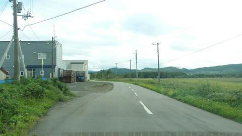 道道858号キムアネップ岬浜佐呂間線起点