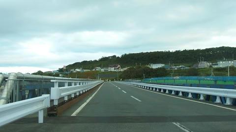 常呂橋(仮橋)