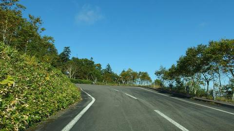ハイランド小清水725への町道
