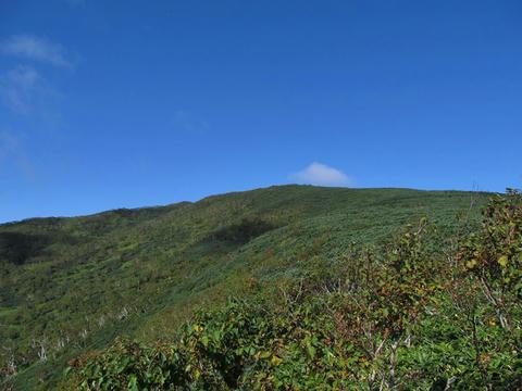 ハイランド小清水725から藻琴山を望む