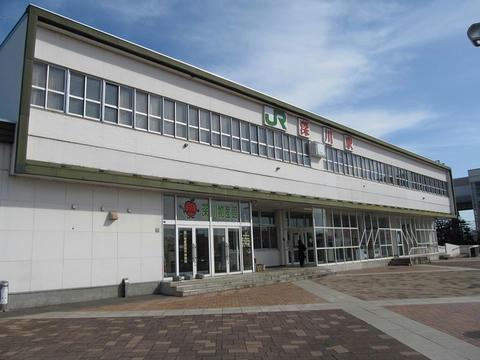 深川駅駅舎