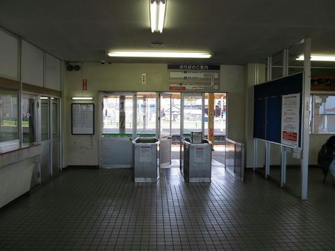 奈井江駅改札口跡