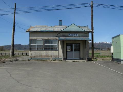 札比内駅駅舎