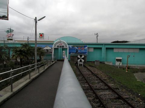 線路終端@枕崎駅