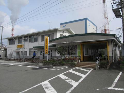 肥薩おれんじ鉄道八代駅駅舎