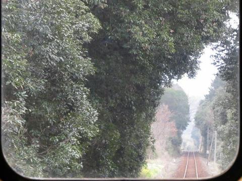 くま川鉄道線路