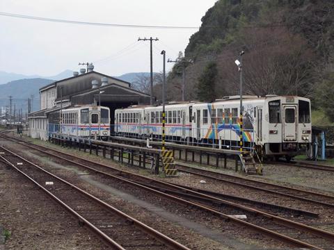 くま川鉄道車両基地
