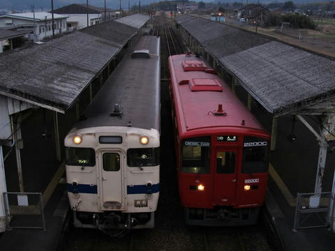 吉松駅構内