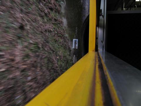 日南線沿線風景・トンネル手前
