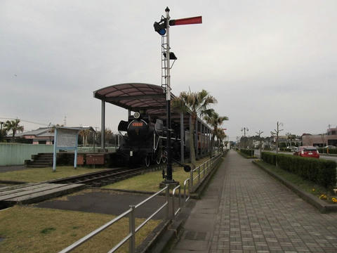 C58 112@志布志鉄道記念公園