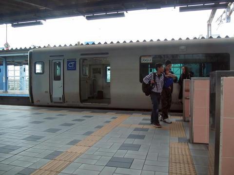 宮崎駅ホーム
