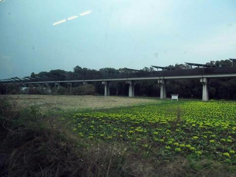 日豊本線から見た宮崎実験線