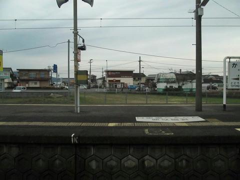 門川駅ホーム