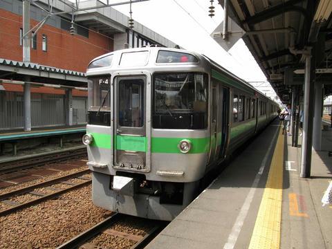 721系F-4編成@岩見沢駅