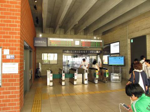 岩見沢駅改札口
