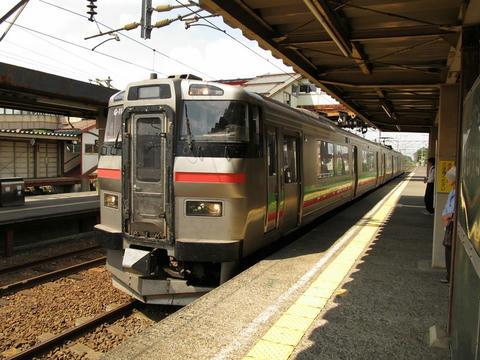 731系G-114編成@島松駅