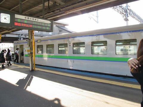 キハ150-106@東室蘭駅