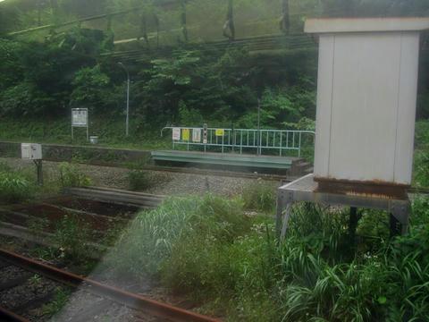 小幌駅ホーム