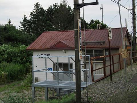 北豊津駅駅舎
