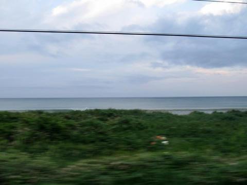 函館本線長万部付近沿線風景