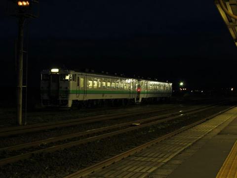 森駅側線に滞泊中のキハ40