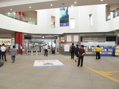 函館駅改札口・券売機
