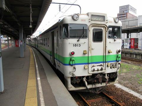 キハ40 1813@函館駅