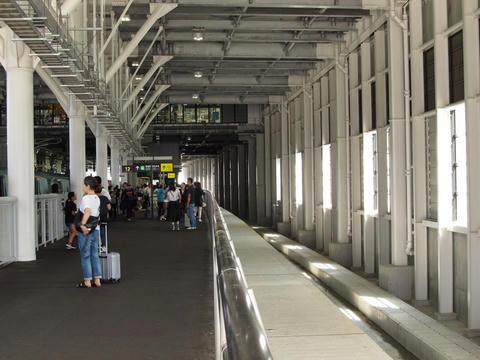 新函館北斗駅13番線予定スペース