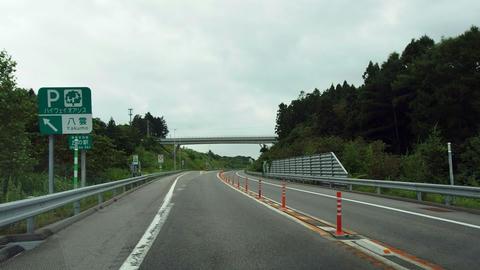 八雲PA2km標識
