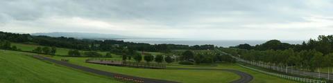 八雲PAから見た風景