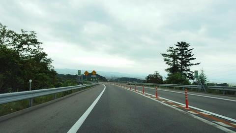 道央道@八雲PA~八雲IC