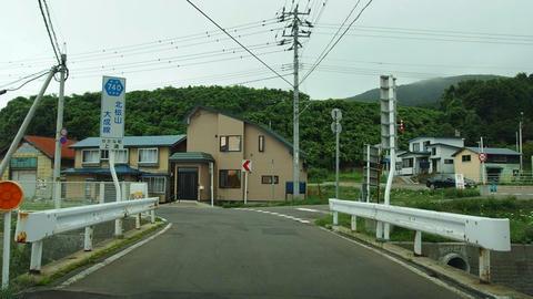 道道740号北檜山大成線@せたな町上浦