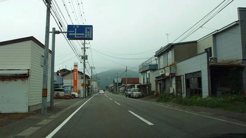 道道740号北檜山大成線@せたな町大成区都