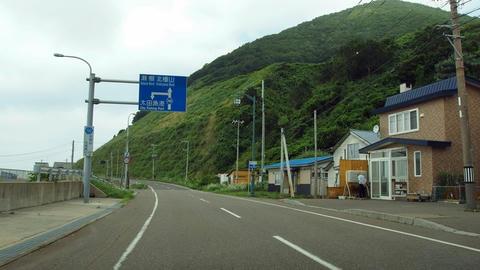 道道740号北檜山大成線@せたな町太田