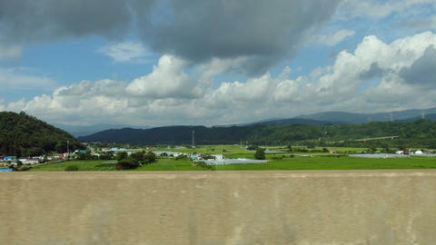 長流川橋から見た風景