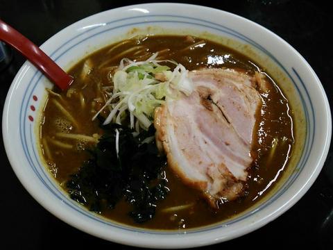 カレーラーメン@じぇんとる麺中島店