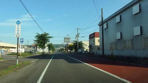 道道919号中央東線@室蘭市寿町