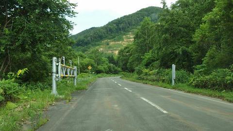 道道32号豊浦ニセコ線豊浦側ゲート