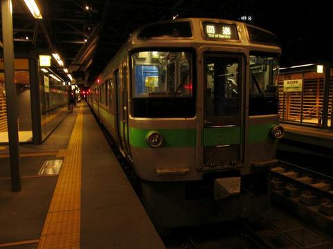 721系F-4編成@旭川駅